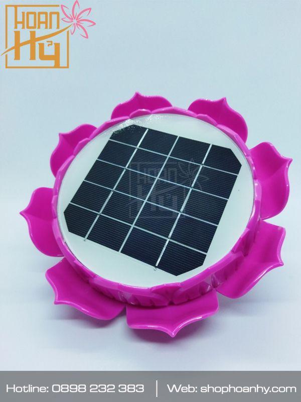 Máy nghe kinh hoa sen năng lượng mặt trời
