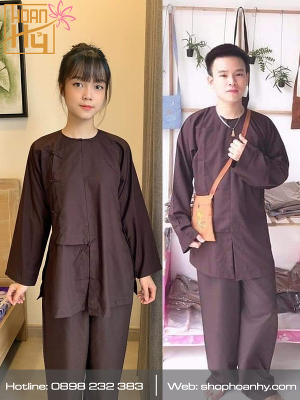 Áo Vạt Hò cho Phật tử nam, nữ